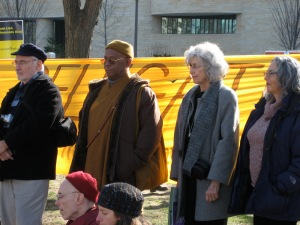 Bhante with the Buddhist Peace Delegation, 2007