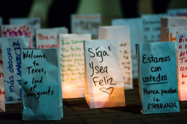 United We Dream vigil, McAllen, TX